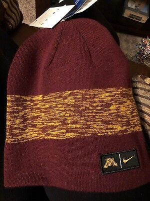 - Minnesota Golden Gophers Reversible Beanie Cap Offical College Product
