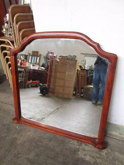 D34033 Large Timber Framed Mirror