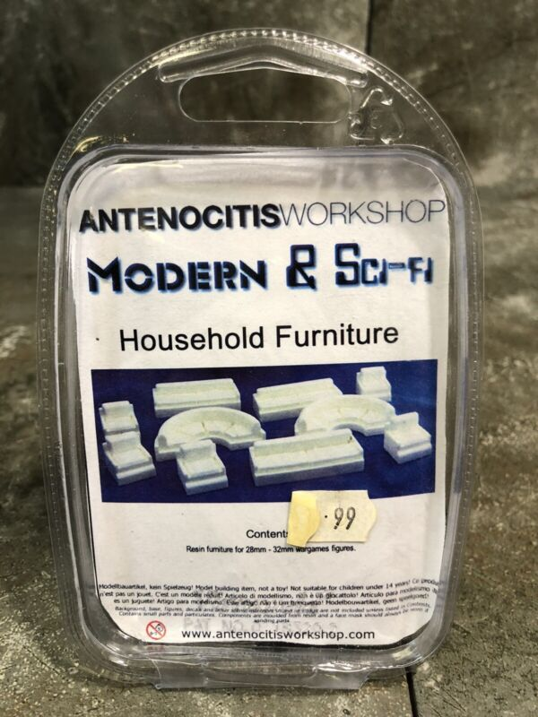 Antenocitis Workshop Modern & Sci-Fi Houshold Furniture Resin Models