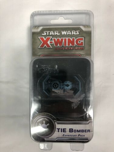 Star Wars X-Wing Miniatures Game Tie Bomber Expansion Pack New