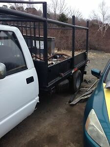 truck parts and steel box