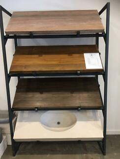 Timber Hardwood Teak Bench - kitchen Bathroom Vanities Tops