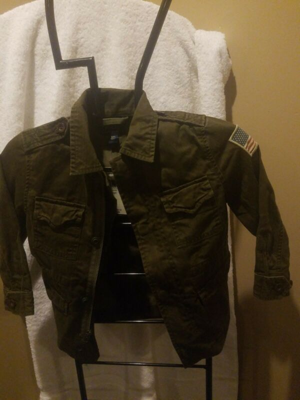 Jacket Polo Ralph Lauren Toddler 3T Army