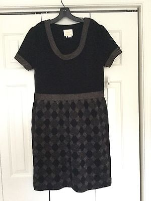 NWT Kate Spade Argyle Shimmer Sweater Dress XL