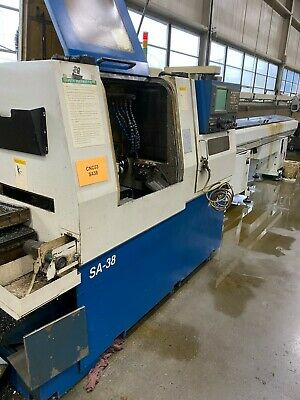 2003 Nexturn Sa-38 Cnc Swiss Type Lathe Screw Machine Fanuc 18itb - Star Citizen