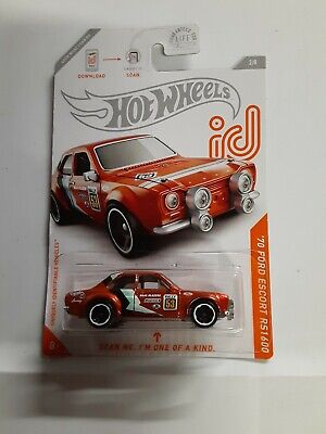 Hot Wheels ID Car '70 Ford Escort RS1600