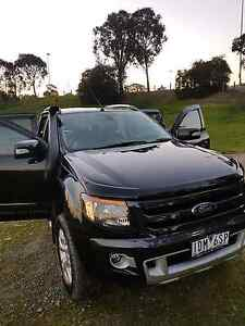 *PRICE DROP* FORD RANGER Wildtrak Crew 4x4 Auto Ute St Helena Banyule Area Preview
