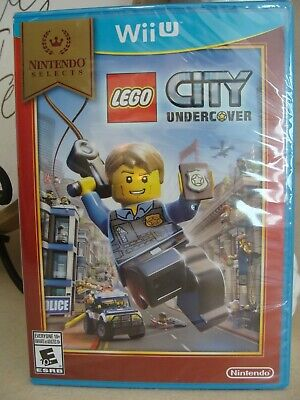 WII U Lego City Undercover New/Sealed