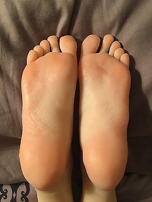 New Girls Realistic Ballerina Gymnast Dancer Feet Silicone Mannequin Foot Model