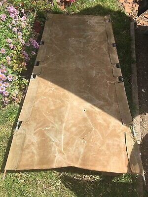 Vintage Army Camping Bed