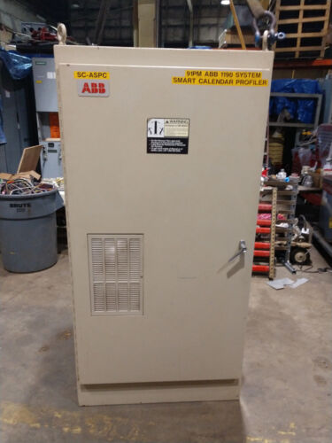 """ABB approx 36"""" x 72"""" x 36"""" ELECTRICAL ENCLOSURE CABINET"""