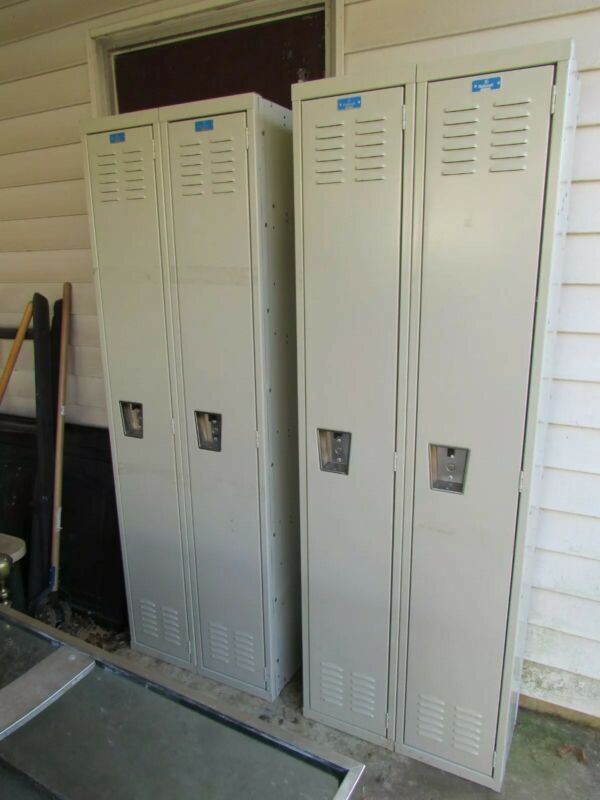 Used Hallowell Double Locker - Assembled - Two - Pickup in Northern Virginia