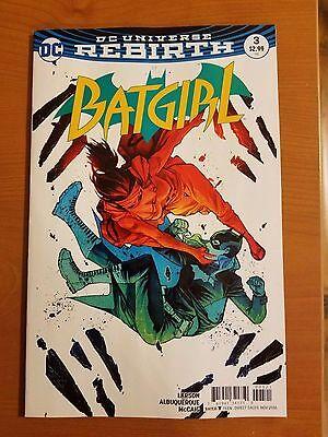 Batgirl # 3 DC Universe Rebirth (1st Print) Variant