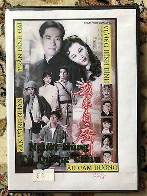 NGUOI HUNG TU QUANG CHAU - PHIM BO HONGKONG - 8 DVD -  USLT