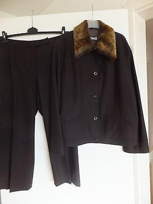 DAMEN KOSTÜM HERBST/WINTER COURT ONE BY GERRY WEBER BRAUN GR. 44 - Winter Damen Kostüm