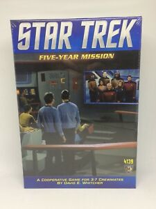 Star Trek Five Year Mission Game New in Box