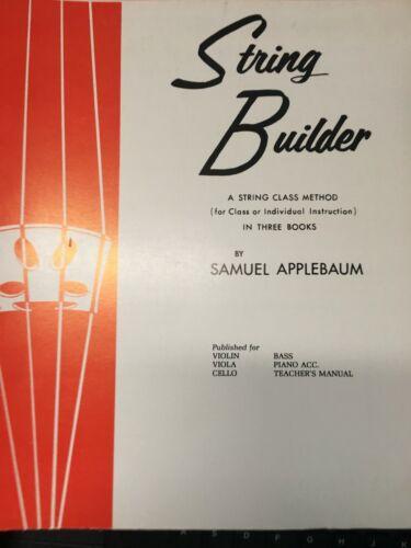 String Builder Book 2 for Cello