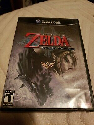 The Legend of Zelda Twilight Princess Gamecube Complete Case and manual