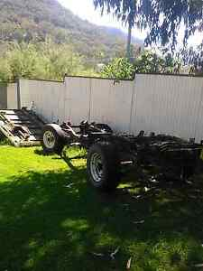 Landcruiser chassis 70 series and steel tray Charbon Mudgee Area Preview
