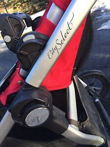 City select double stroller, car seat and more...