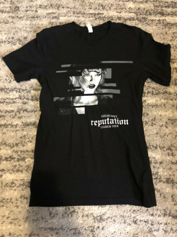 Taylor Swift Tour Shirt, Redemption Stadium Tour, Small