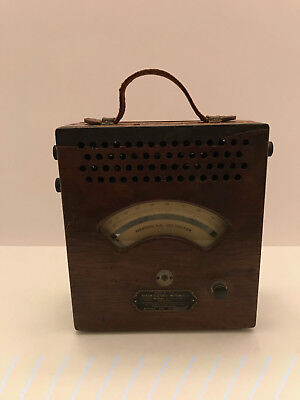 Vintage Weston Electrical Instrucment Co A.c. Voltmeter Model 155 No 2591