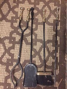 Fire place tools
