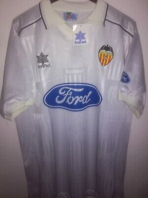 VALENCIA CF 1996-1997 BNWT Ford shirt camiseta maillot trikot maglia luanvi