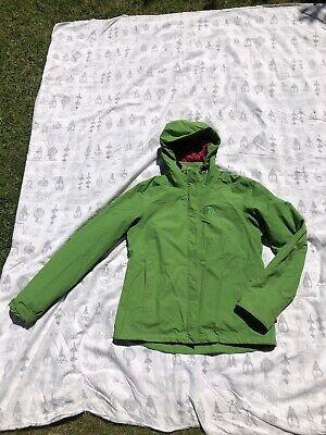 Jack Wolfskin Green 2in1 Outdoor Jacket Size 12/14