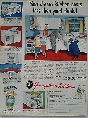 1952 Youngstown kitchens your dream kitchen cost less than you'd think ad