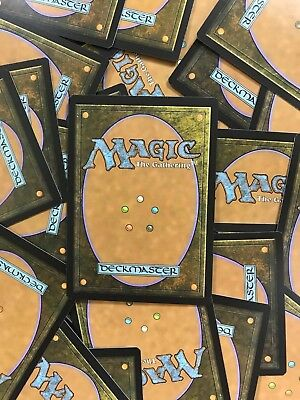 MTG Magic the Gathering English Bundle of 50 Commons/Uncommons + 1 Rare/Mythic