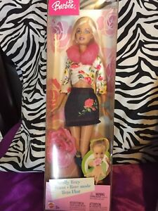 Rose Barbie in original box
