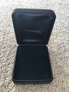 Tiffany & Co Jewellery gift box velvet  vintage