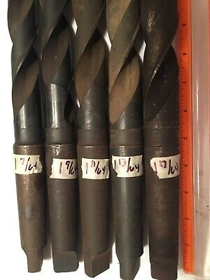 1-61//64 Michigan Drill Series 200 Taper Shank Drill