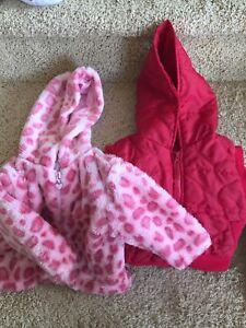 Jacket and heart vest - 12mths