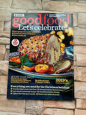 BBC GOOD FOOD MAGAZINE Dec 2018 Christmas Issue Turkey for 6 Tom Kerridge Stei ()