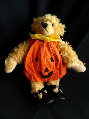 Tracey Roe Barbara Conley Pumpkin Costume Homemade Roley Bear #531 (1995 ADG ) - Pumpkin Costume Homemade
