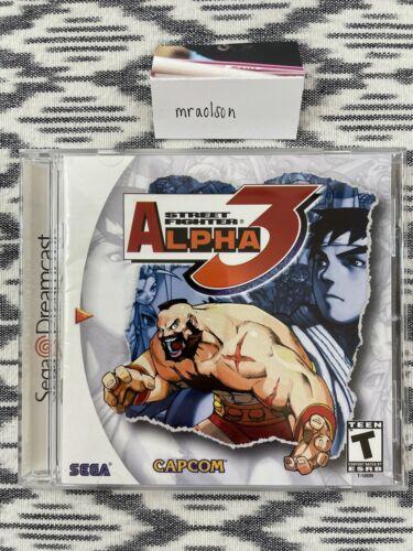 NICE - Street Fighter Alpha 3 Dreamcast Original Sega OEM CIB - $60.00