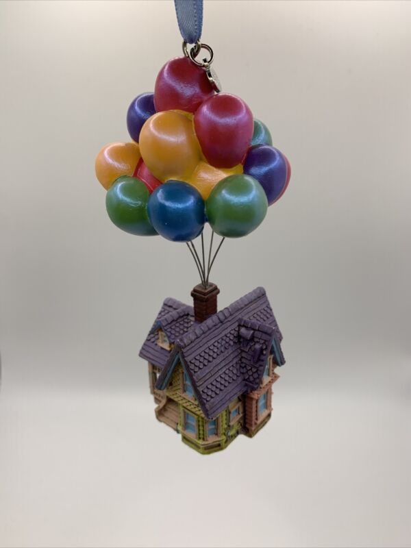 Up House Balloons Pixar Sketchbook Ornament Disney Store 30th Anniversary LE