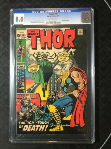 Thor #189 CGC 8.0 VF Hela Appearance