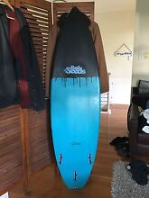 Bad seeds 6'0 black/blue surfboard fcs 2 Currumbin Gold Coast South Preview