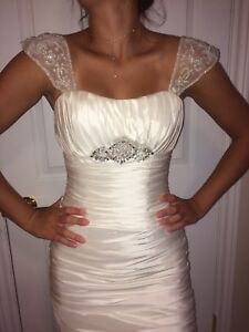 Mint condition wedding gown