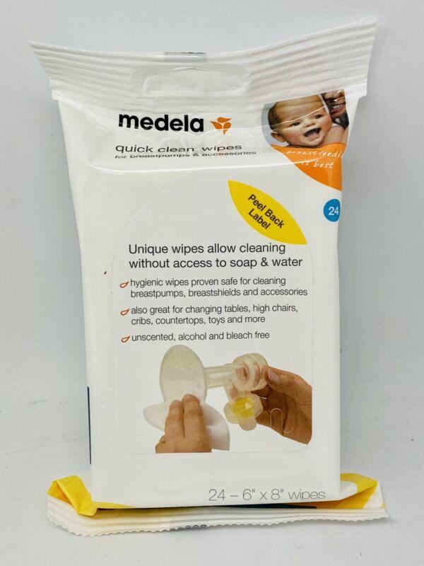 Medela Quick Clean Wipes 24 Pack