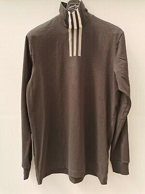 Adidas Yohji Yamamoto Men's Jumper Long Sleeve Shirt Size Medium Mens Top M y-3