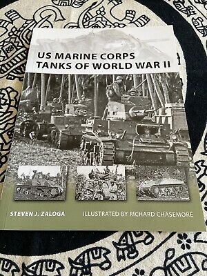 New Vanguard: US Marine Corps Tanks of World War II 186 by Steven J. Zaloga...
