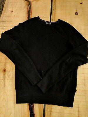 Mens Superdry JPN sweater black size large