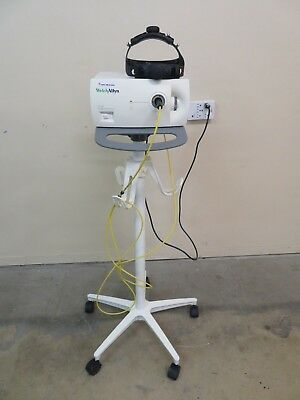 Welch Allyn Cl-100 Surgical Illuminator Head Lamp Cart Inv Ab-d 2664
