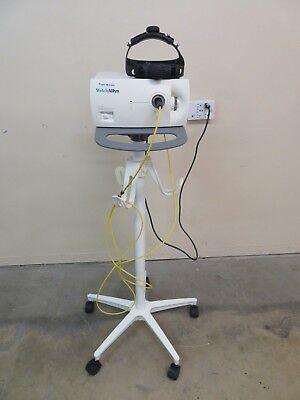 Welch Allyn Cl-100 Surgical Illuminator Head Lamp Cart Inv Ab-d 2664