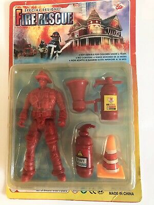 Firefighter Action Figure with - Firefighters Accessories