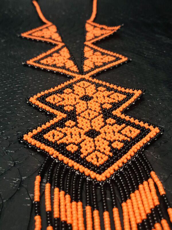 Handmade Huichol Necklace/ Handmade Mexican Necklace